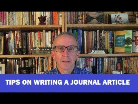 13 Tips for Writing a Great Journal Article