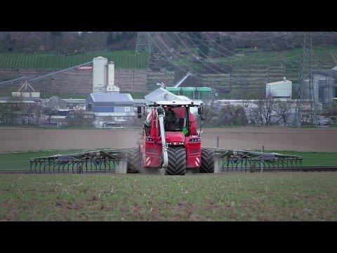 Gülle fahren 2016 | Vervaet Hydro Trike XL & Bomech Schleppschuhverteiler