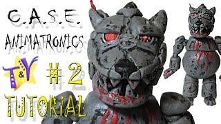 Как слепить Волка из Кейс Аниматроникс Туториал 2 Case Animatronics Tutorial 2