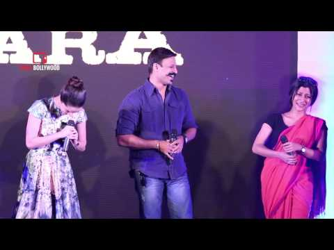Shraddha Kapoor emulating Dialogue of Konkona Sen Sharma Funny | VIvek Oberoi | Omkara Book Launch