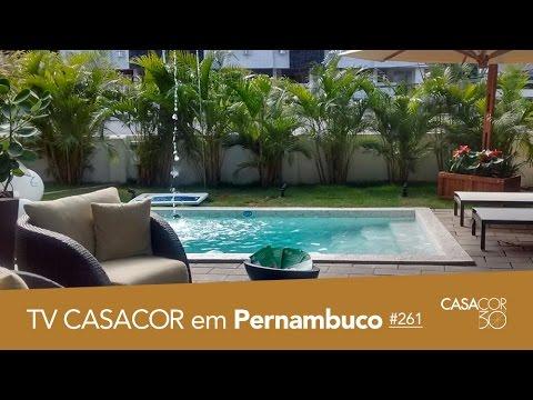 CASACOR Pernambuco 2016: piscina, loft, jardim e mais no TV CASACOR ao VIVO