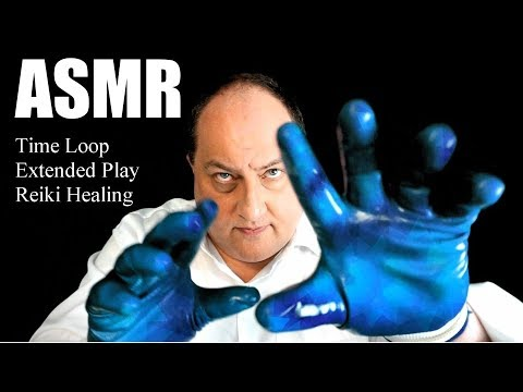 Reiki Eternal Time Loop of Hand Movements ASMR