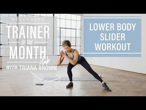 15-Minute Lower Body Slider Workout with [solidcore] | Trainer of the Month Club | Well+Good