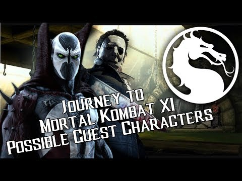 Possible Guest Characters - Journey to Mortal Kombat 11