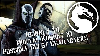 connectYoutube - Possible Guest Characters - Journey to Mortal Kombat 11