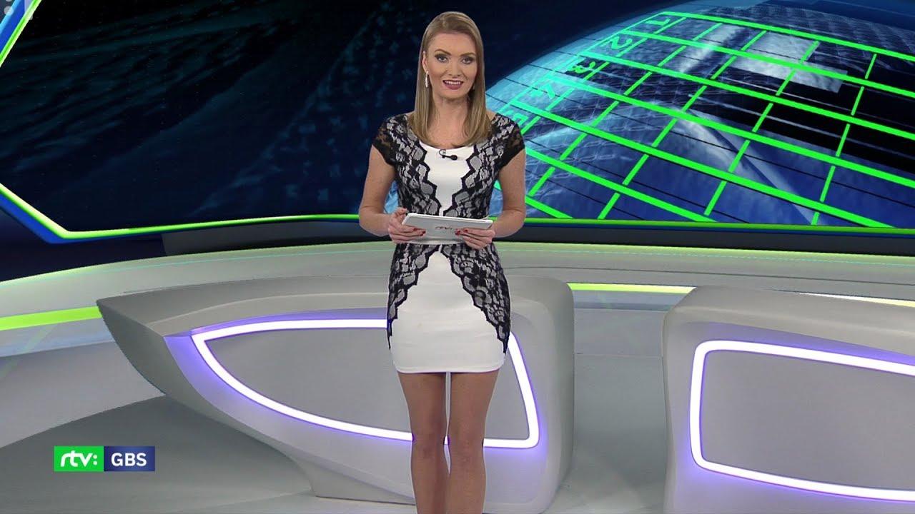 Beautiful TV presenter Olga Marami