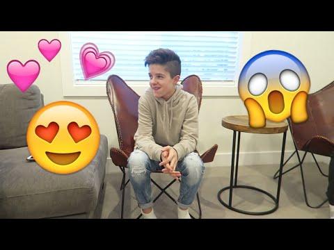 Telling my crush I LOVE YOU!💕😘 | Brock and Boston