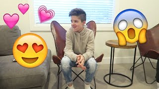 Telling my crush I LOVE YOU!💕😘 | Brock and Boston