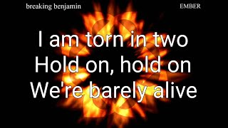 Breaking benjamin - Torn in Two Lyrics HQ