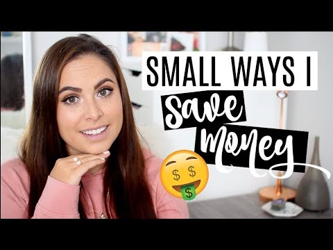 THINGS I CUT FROM MY BUDGET! How I Save Money in Small Ways