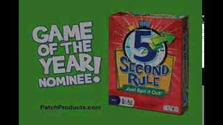 5 second rule game by patch products