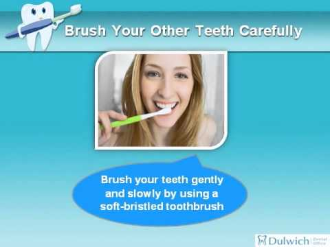 how long before i can brush my teeth after tooth extraction