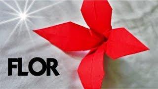 Cómo hacer una FLOR de Papel - Origami