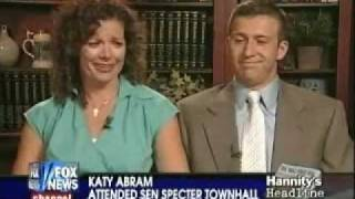 """""""Sleeping Giant"""" Woman From Specter Town Hall On """"Hannity"""""""