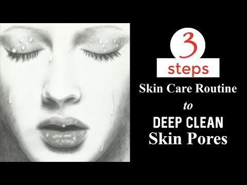 30 Minutes Glowing Skin Challenge   3 Steps Skin Care Routine To Deep Clean Your Skin Pores thumbnail