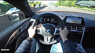 THE BMW M8 COMPETITION 2021 TEST DRIVE