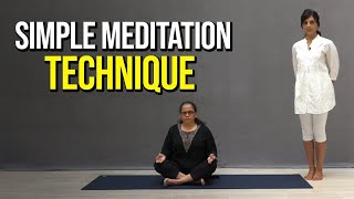 Simple Meditation Technique with Amita