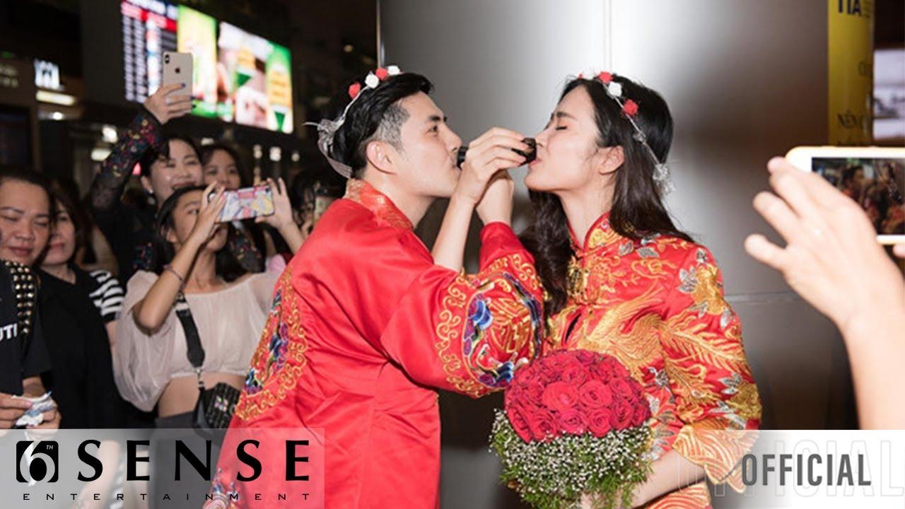 Đợi chờ không được, Fanclub tổ chức luôn đám cưới cho Đông Nhi, Ông Cao Thắng tại sân bay