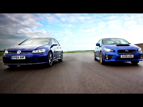 Golf R VS Subaru WRX STi – Fifth Gear