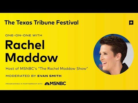 Texas Tribune Festival: Rachel Maddow One-on-One | NBC News