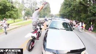 compil d'esquive et d'humiliation de flic a moto