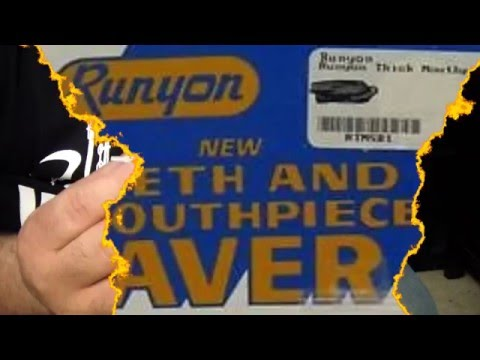 RUNYON TEETH AND MOUTHPIECE SAVER -TUTORIALES PARA EL SAX - SANTIAGO PACHECO