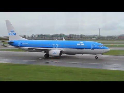 Netherlands. Airport Schiphol. KLM. Airplanes