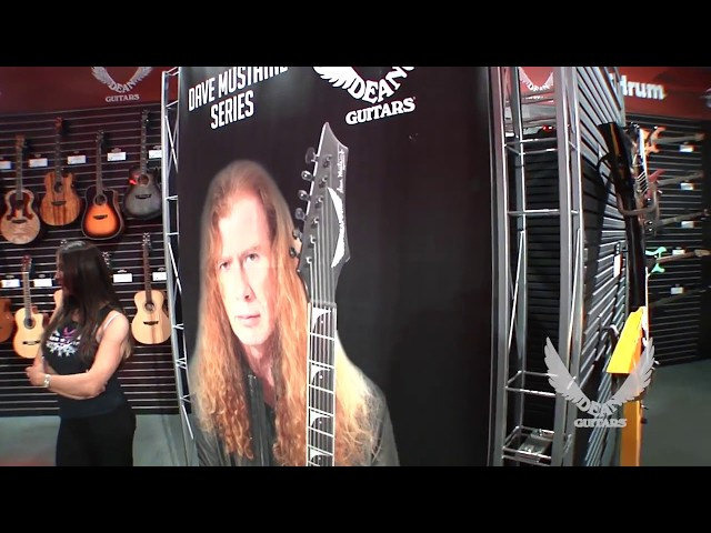 NAMM 2018 Dean GUitars-Dave Mustaine Series