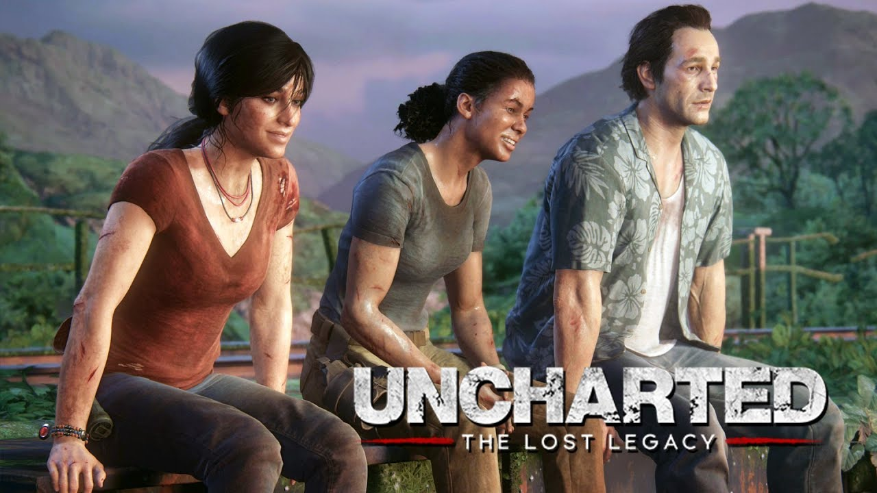uncharted the lost legacy 14 o final ps4 pro gameplay portugu s pt br youtube