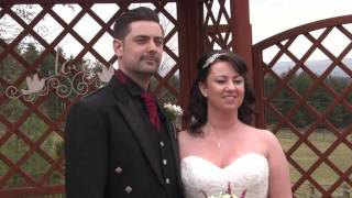 Alison & Scott's Wedding Highlights - The Three Kings, Falkirk