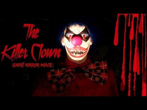 The Killer Clown (Short Horror Scary Movie) Evil Creepy Halloween American Horror Story Freak Show