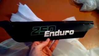 Stels 250 Enduro розпакування 3 частина