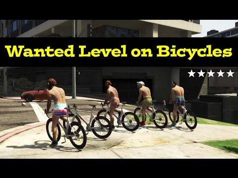 GTA 5 Online - Survive The Police on Bicycles Challenge! (Most Difficult Challenge Yet!)