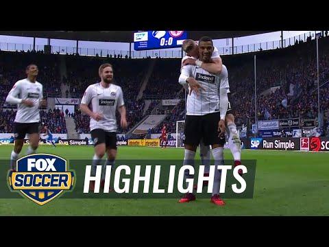 TSG Hoffenheim vs. Frankfurt | 2017-18 Bundesliga Highlights
