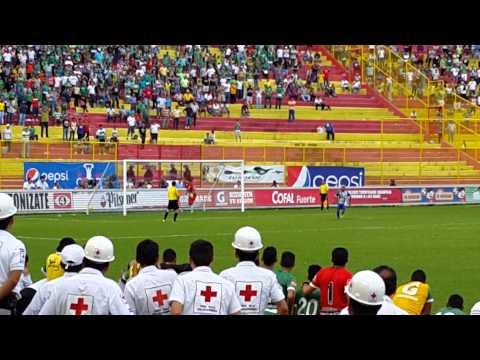 "Metapán bicampeón de El Salvador. Última tanda de penales. Gol de ""Caballito"" Jovel"