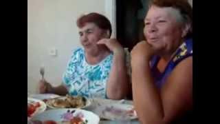 Очень ржачное видео,бабки мочат частушки