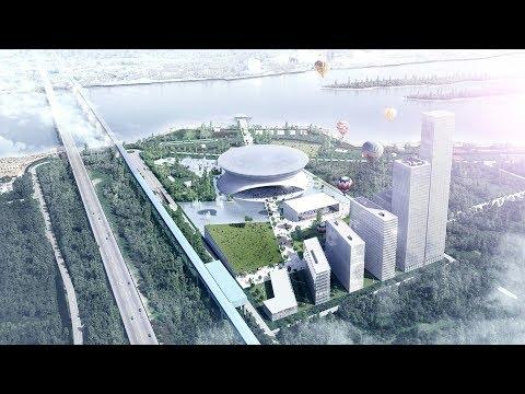 Каким будет новый хоккейный стадион в Новосибирске