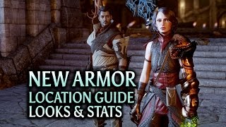 Dragon Age: Inquisition - Trespasser DLC - New Armor Location guide, looks & stats