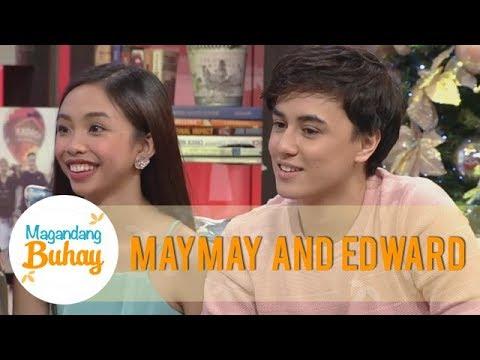 Magandang Buhay: Maymay and Edward message each other