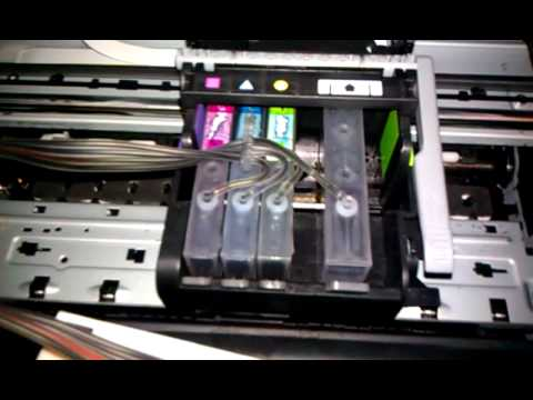 My Cis Ink System Hp Officejet 6500 Youtube