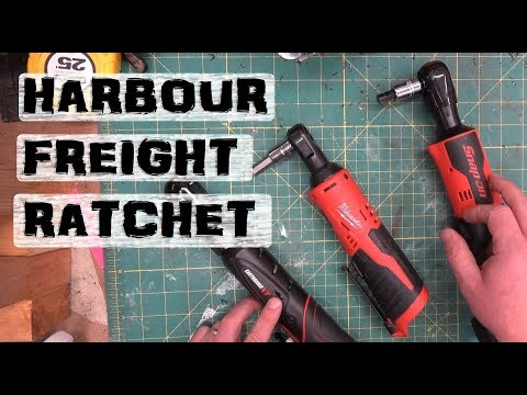 BOLTR: Harbor Freight Earthquake Ratchet | Milwaukee and Snap-On too!