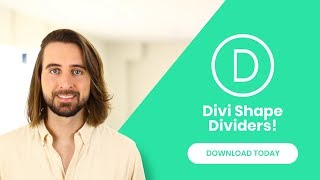 Divi Feature Update! Introducing Dynamic Shape Dividers For Divi Sections