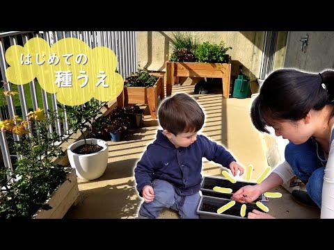 【フランスVlog】バルコニー菜園をこしらえる休日
