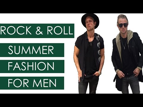 ROCK AND ROLL SUMMER - SUMMER ROCK AND ROLL STYLES FOR MEN