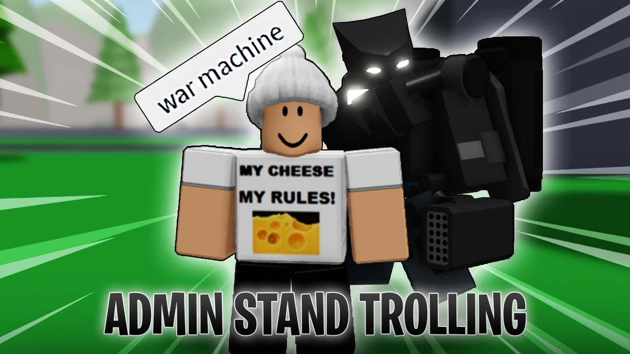 Download ADMIN STAND TROLLING | A Bizarre Journey