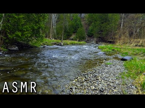 ASMR - Rain Down by the River