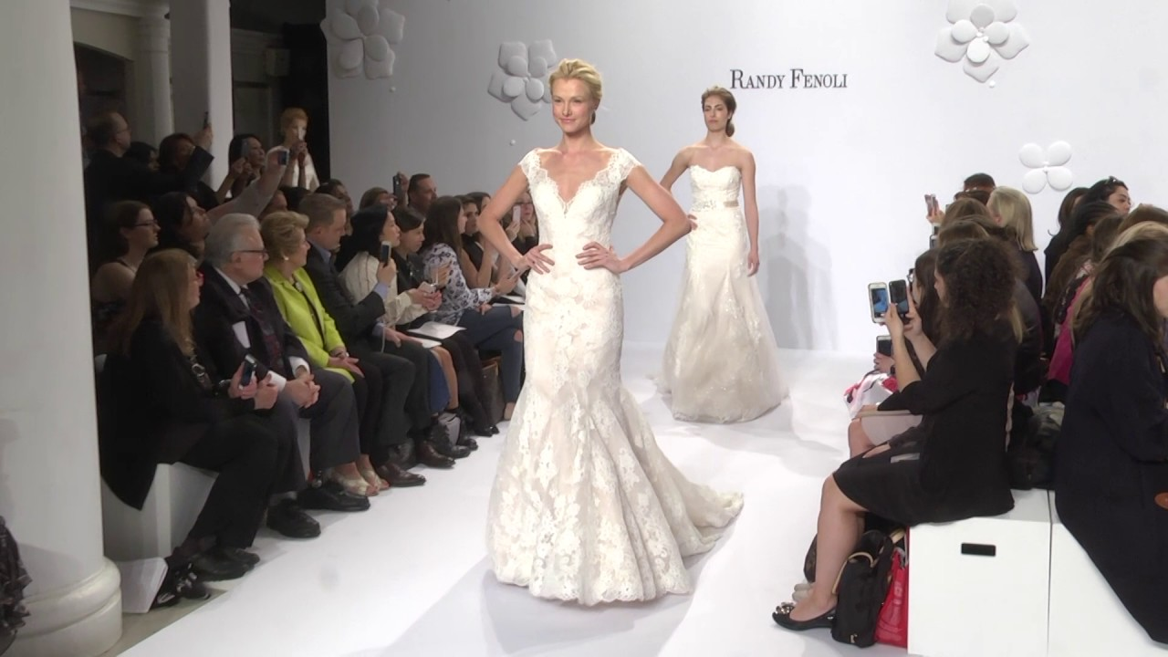 Randy Fenoli Bridal Runway Fall 2017 At Kleinfeld