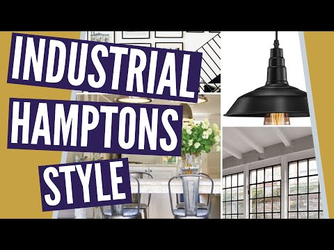Industrial Hamptons Style: How To Get A Different Hamptons Style Look!