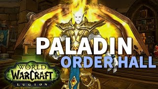 A Sign From The Sky WoW Legion Paladin Order Hall Quest
