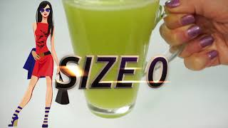 Size Zero Drink | Lose 30 LBS In 15 Days | Lose 15 Kgs In 15 Days